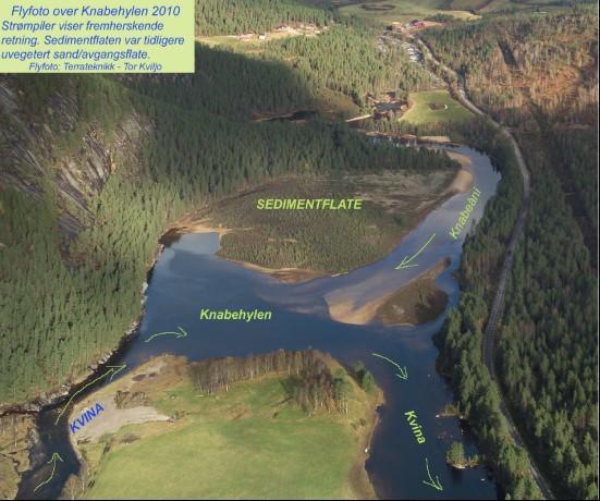 Flyfoto over Knabehylen 2010