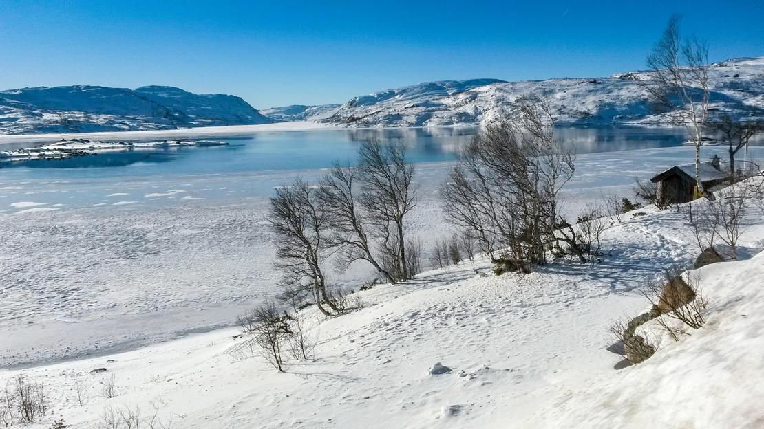 Åpent vann om vinteren