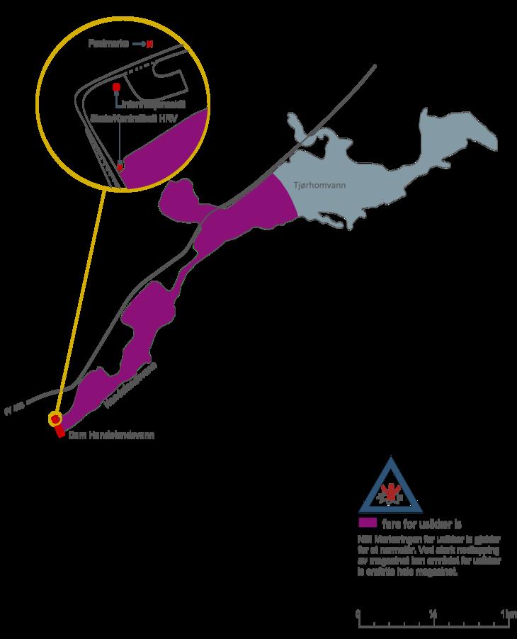 Iskart Tjørhomvatn