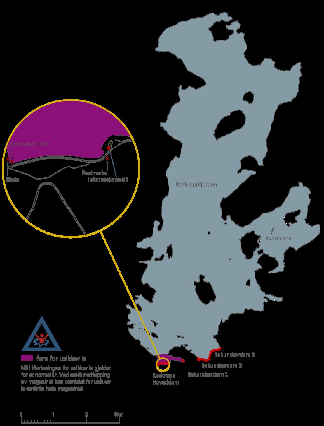 Iskart Roskreppfjorden