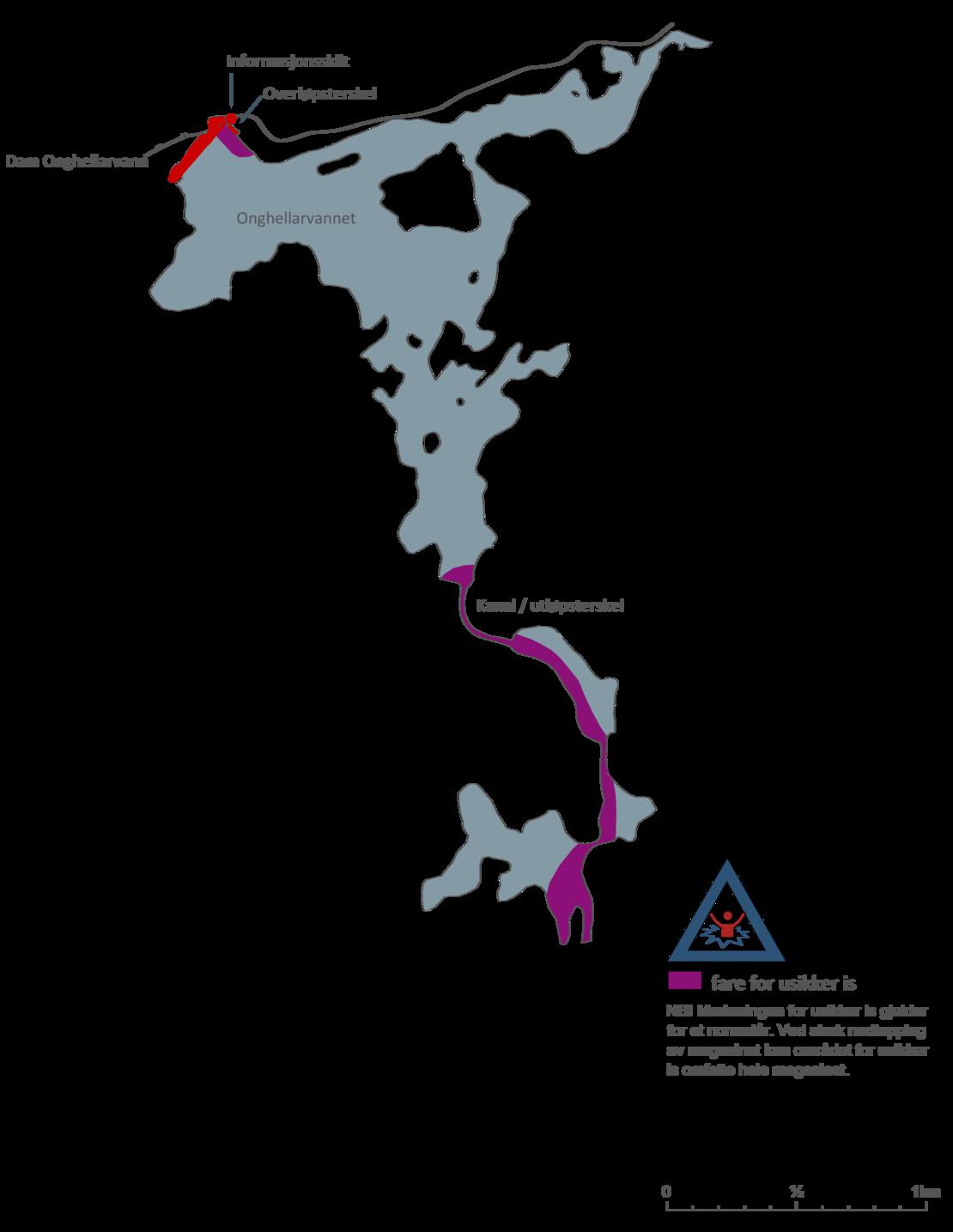 Iskart Onghellervatn