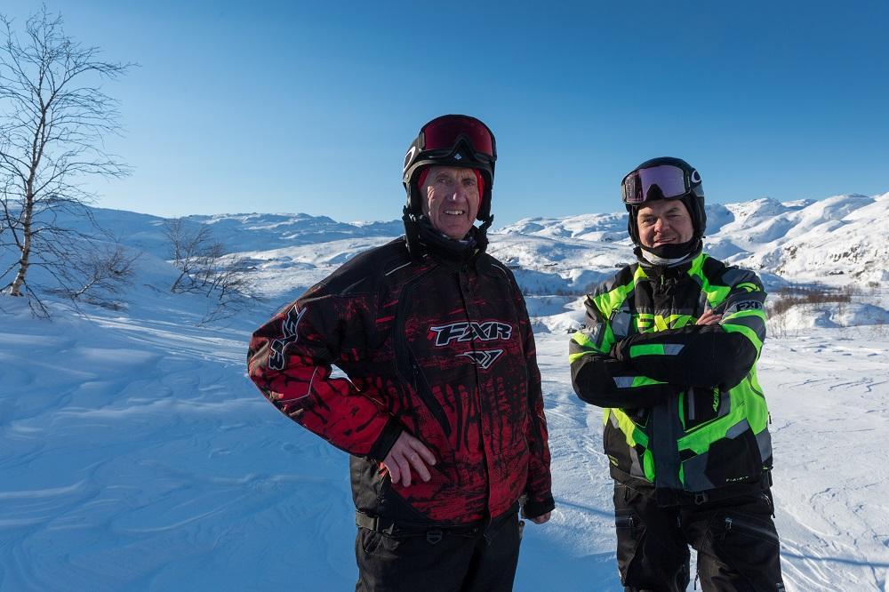 To menn på fjellet