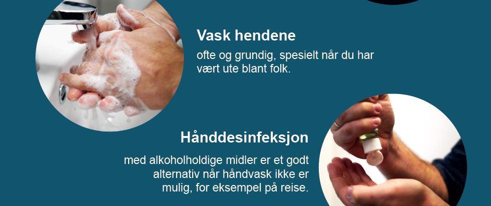 tips til håndhygiene